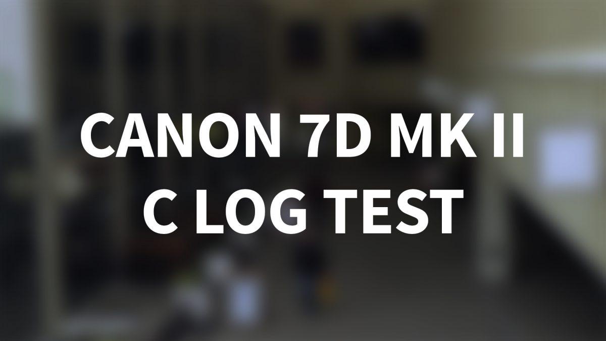 Make Film - Tell Stories | Canon 7D Mark II – C LOG