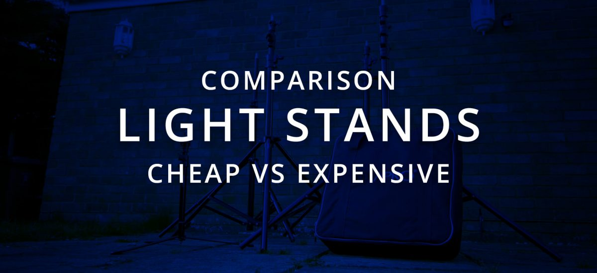 Expensive Light Stand vs Cheap Light Stand