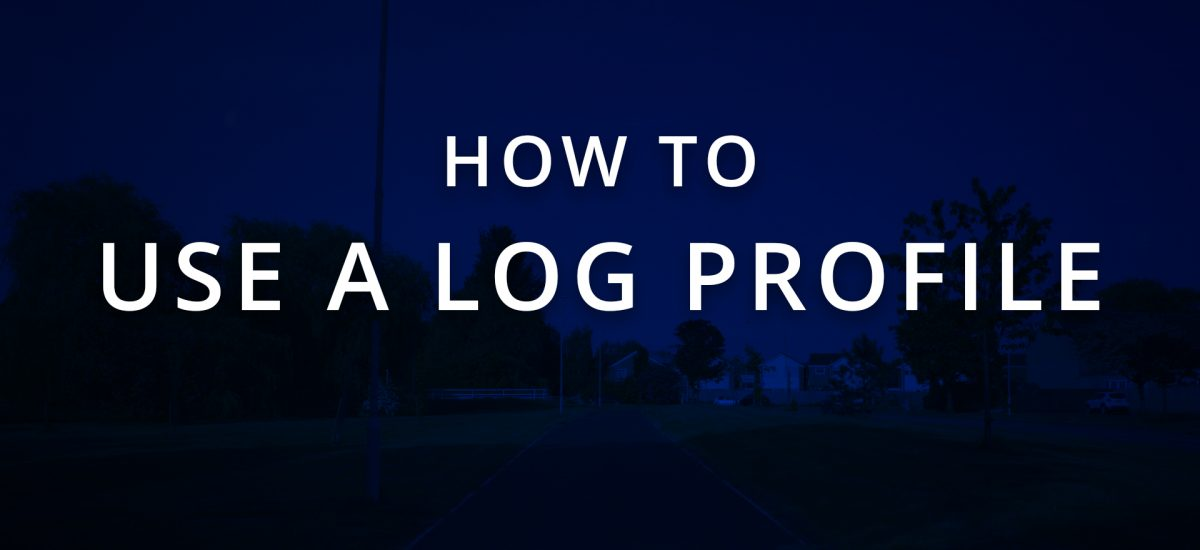 How to Expose a Log Profile