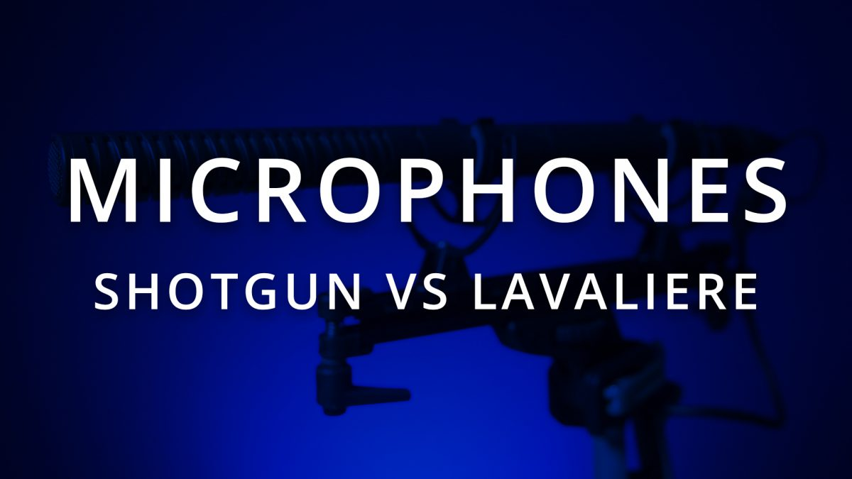 Shotgun Microphones and Lavaliere Microphones: The Pro's and Cons