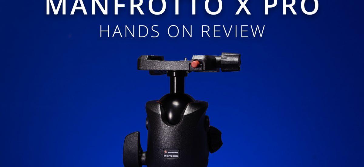 Manfrotto X Pro Tripod Head
